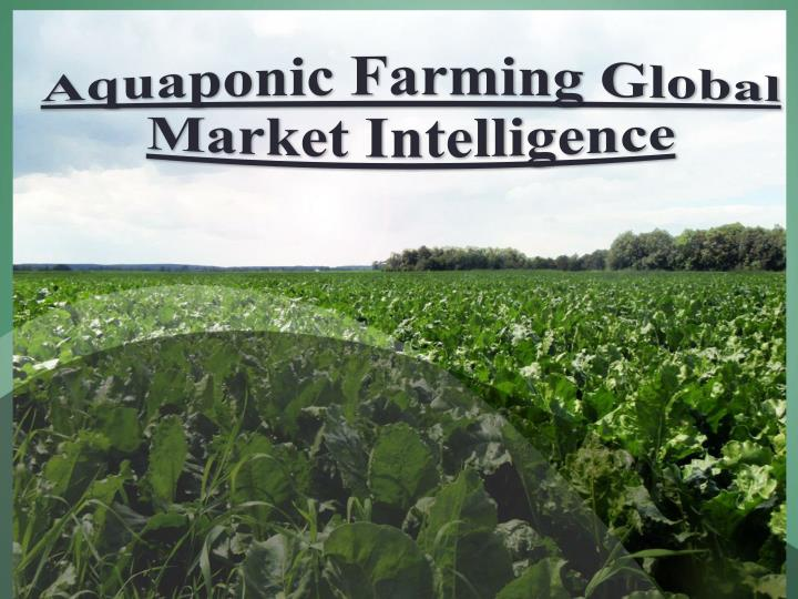 Aquaponic Farming Global Market Intelligence