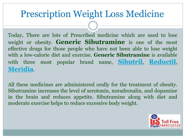 Prescription Weight Loss Medicine
