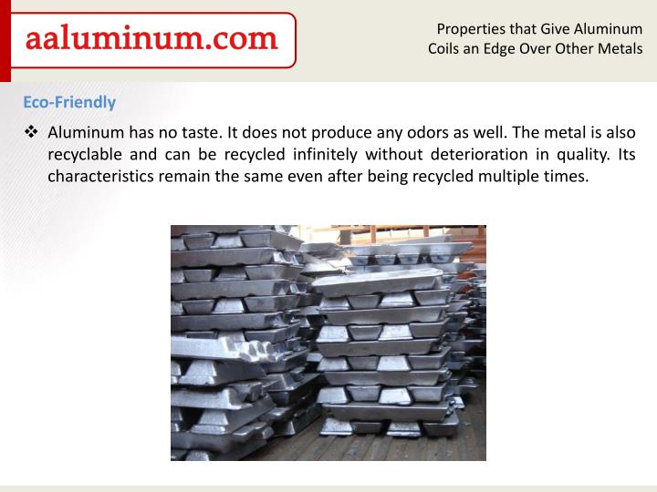 Properties that Give Aluminum