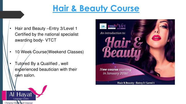 Hair & Beauty Course