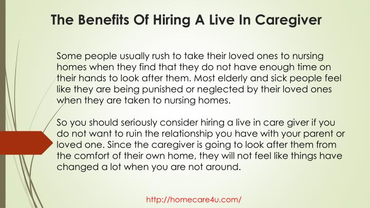 The benefits of hiring a live in caregiver2