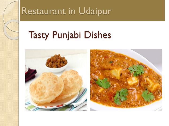 Restaurant in Udaipur
