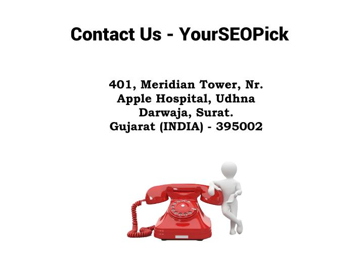 Contact Us - YourSEOPick