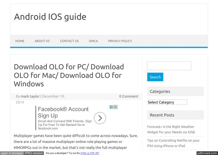 Android IOS guide
