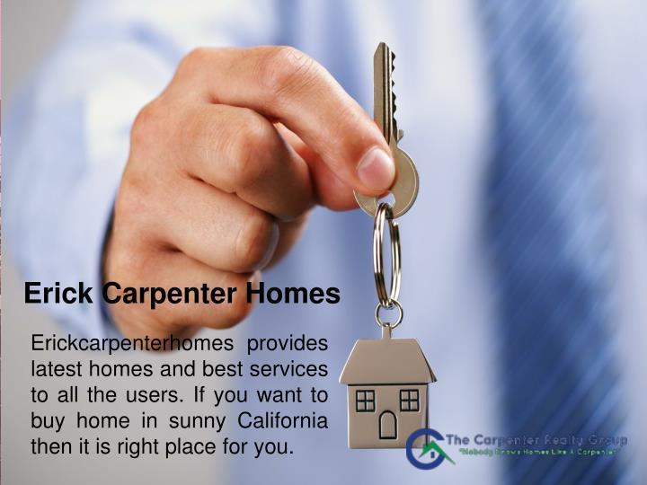Erick Carpenter Homes
