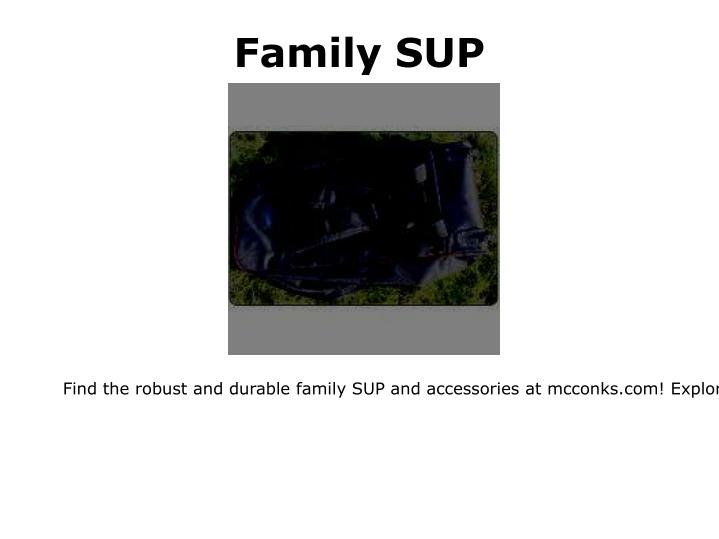 Family SUP