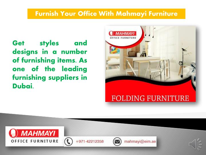 Furnish Your Office With
