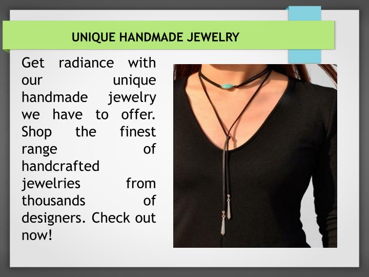 Unique Handmade Jewelry