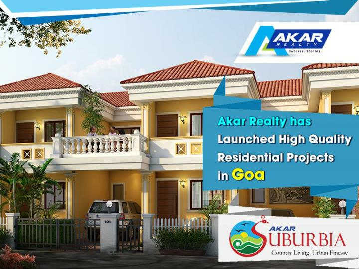 Planning to invest in residential projects in goa
