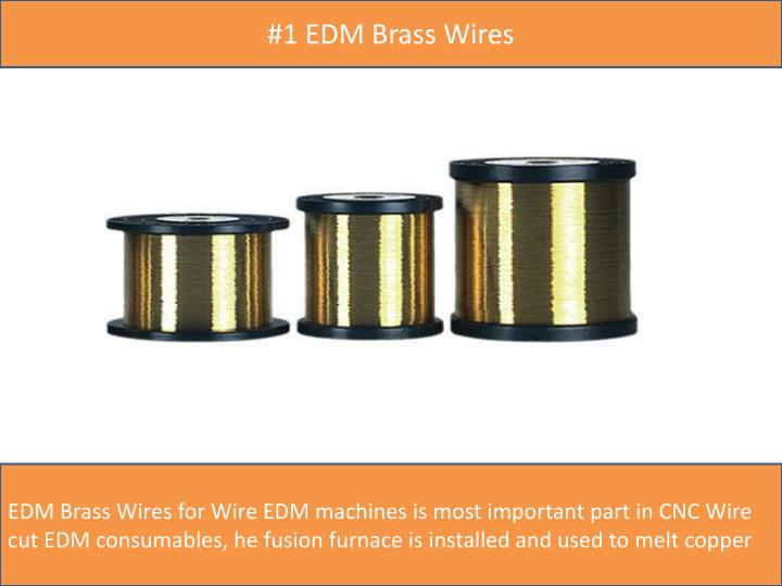 #1 EDM Brass Wires