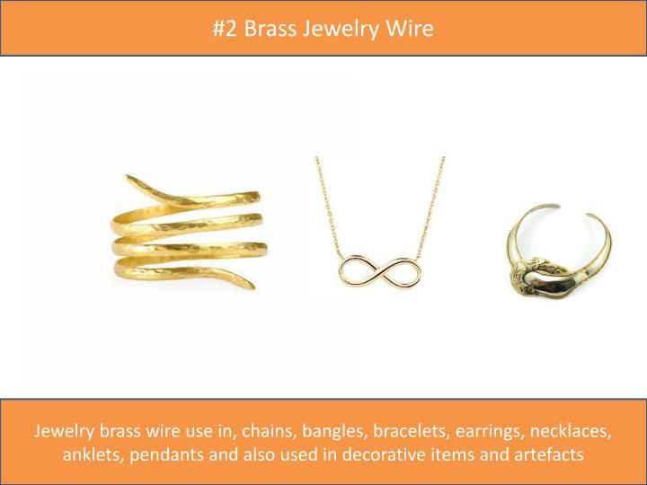 #2 Brass Jewelry Wire