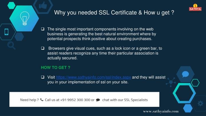 Why you needed SSL