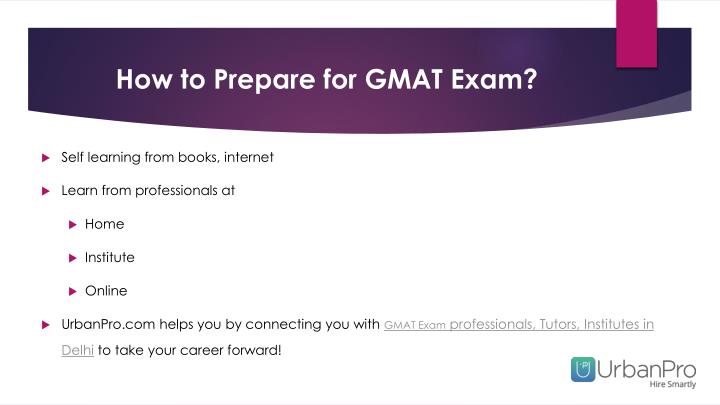 How to Prepare for GMAT Exam?