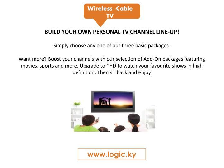 Wireless -Cable TV