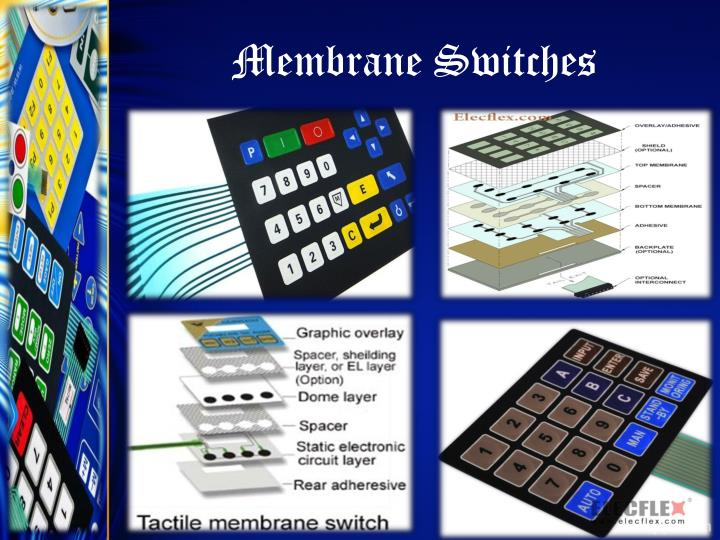 Membrane switches1