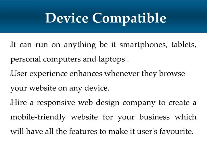 Device Compatible
