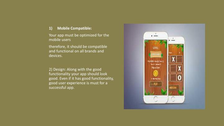 Mobile Compatible: