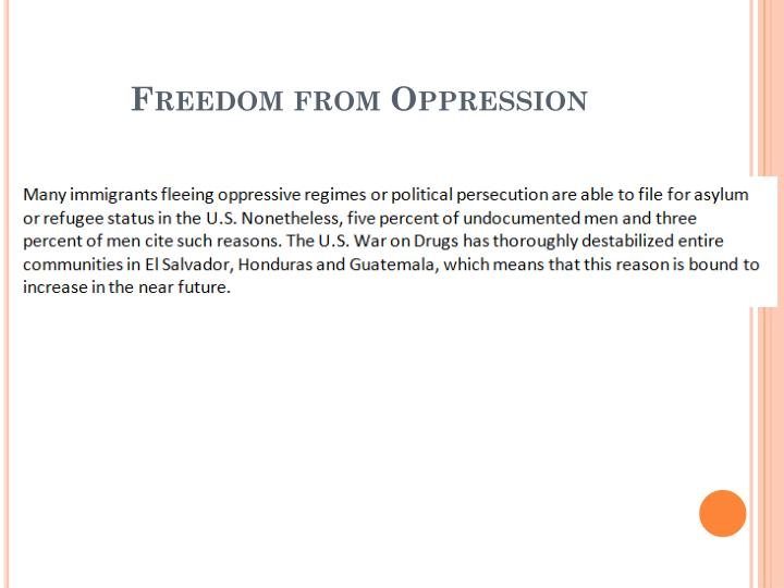 Freedom from