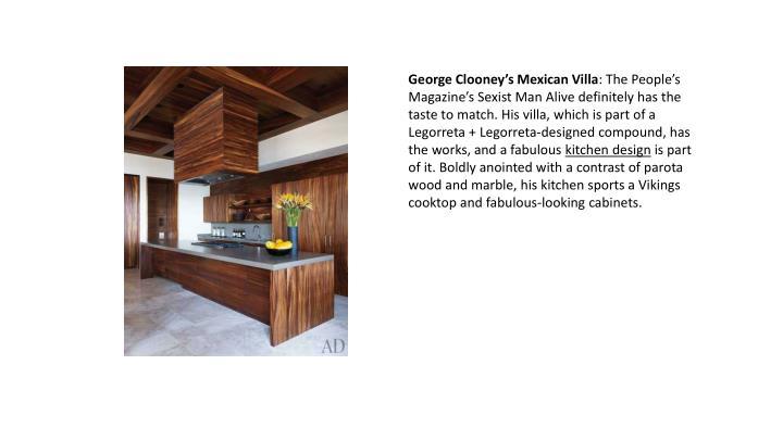 George Clooney's Mexican Villa