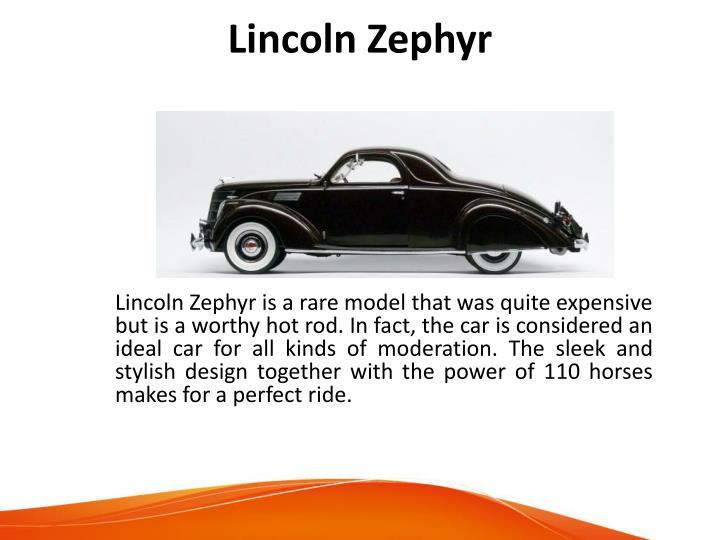 Lincoln Zephyr