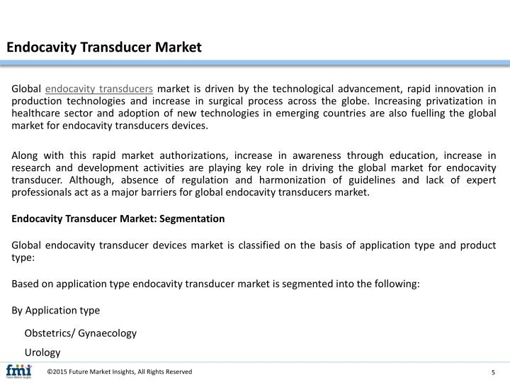 Endocavity Transducer Market