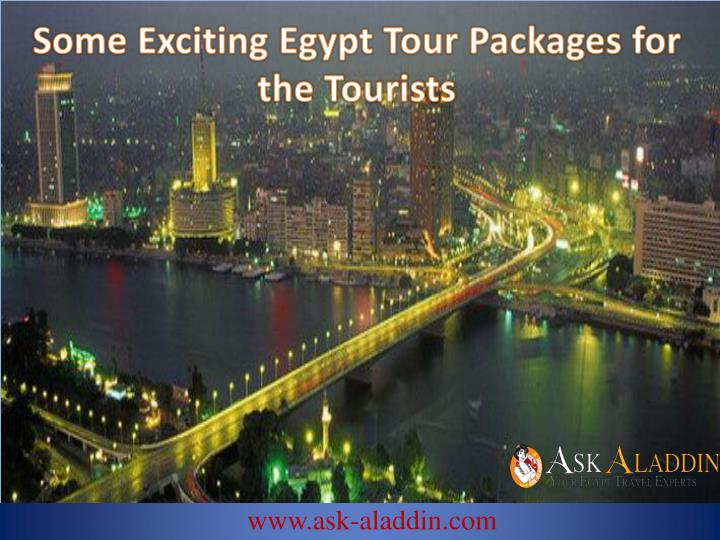 Some Exciting Egypt Tour Packages for the Tourists