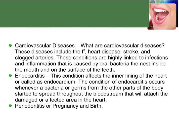 Cardiovascular Diseases – What are cardiovascular diseases?