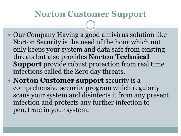 Norton Customer Support