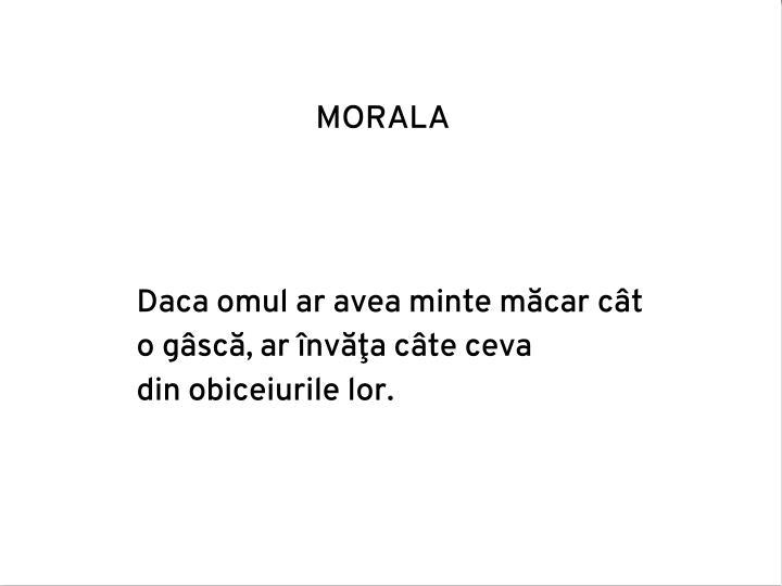 MORALA