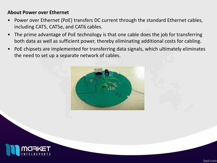 About Power over Ethernet