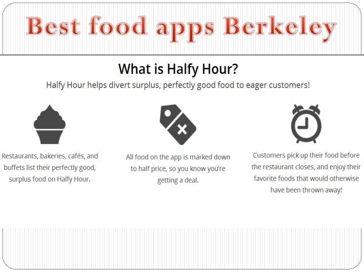 Best food apps Berkeley