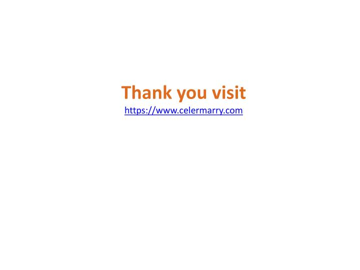 Thank you visit