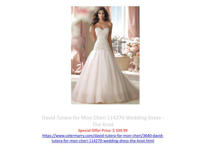 David Tutera for Mon Cheri 114270 Wedding Dress - The Knot