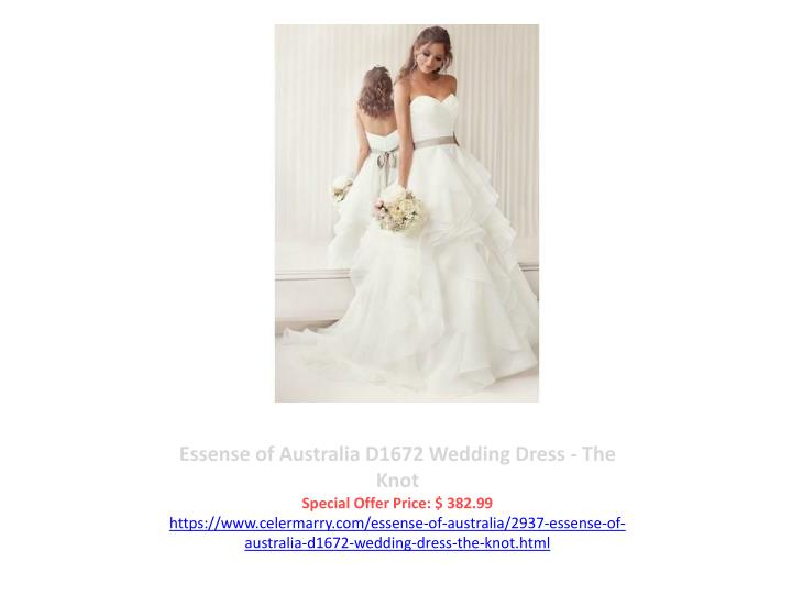 Essense of Australia D1672 Wedding Dress - The Knot