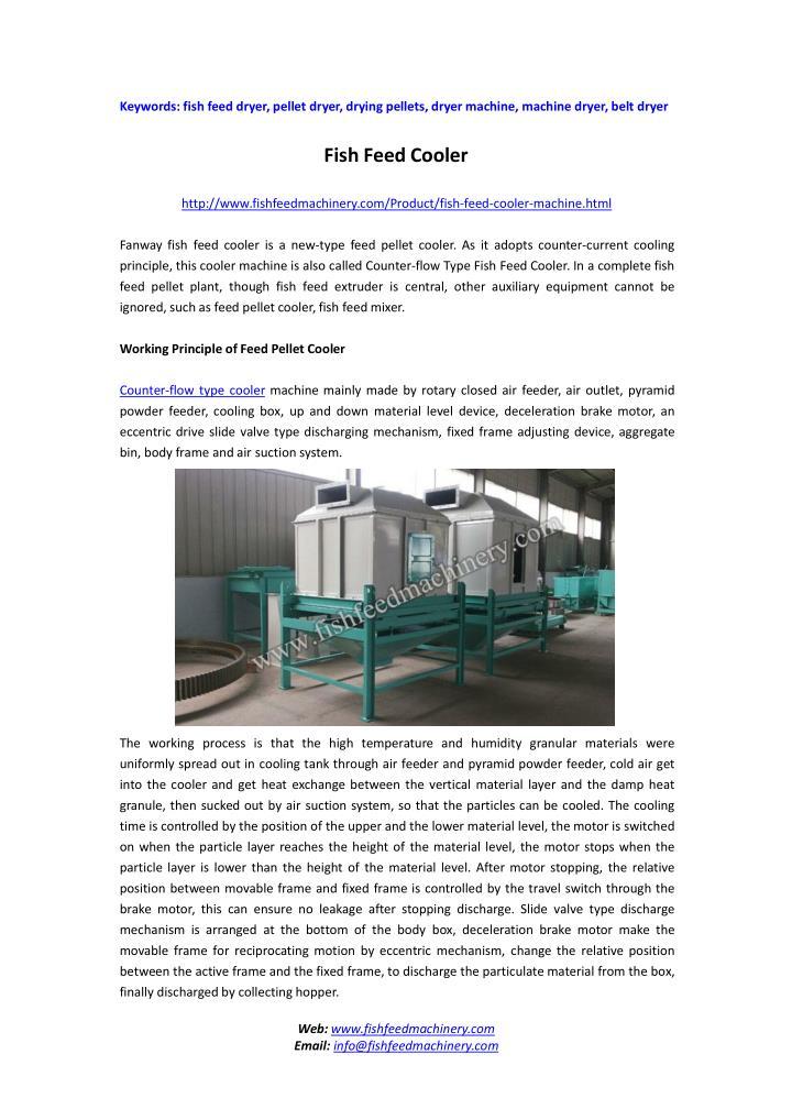 Keywords: fish feed dryer,pellet dryer,drying pellets,dryer machine, machine dryer,belt dryer