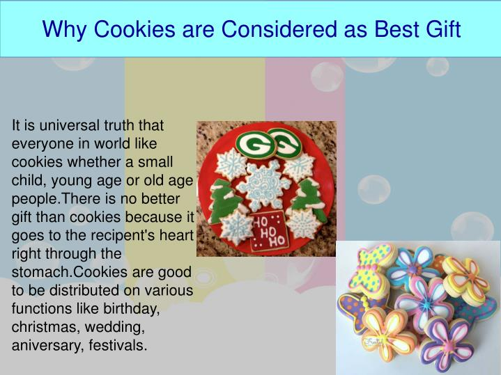 Why Cookies are Considered as Best Gift