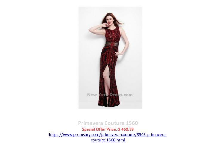 Primavera Couture 1560
