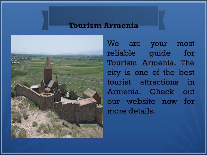 Tourism Armenia