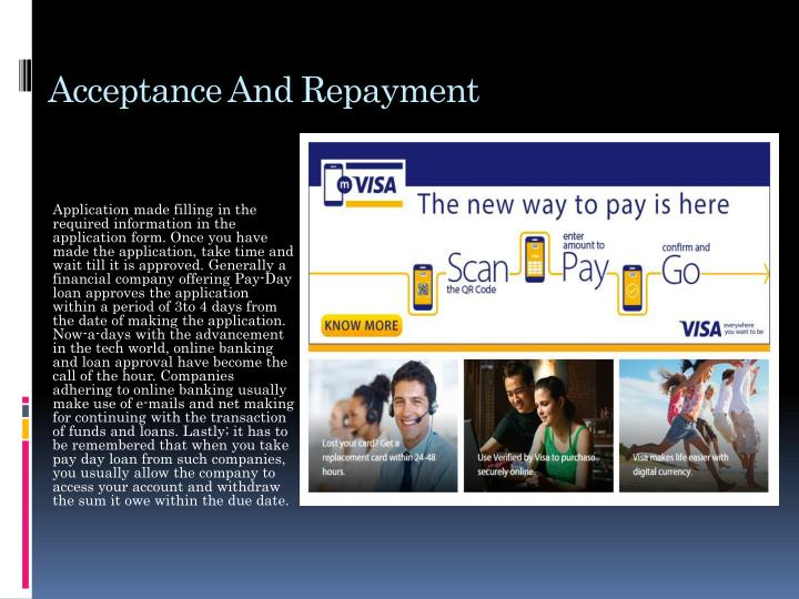 Acceptance And Repayment