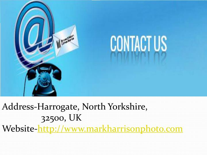 Address-Harrogate, North Yorkshire,