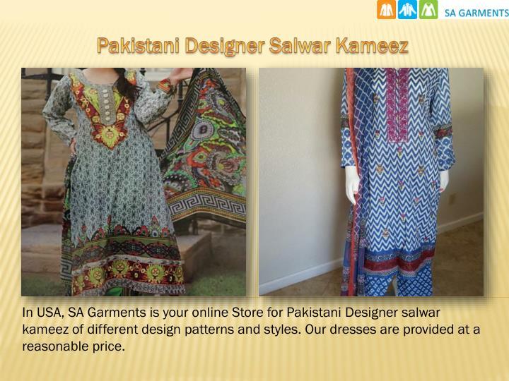Pakistani Designer