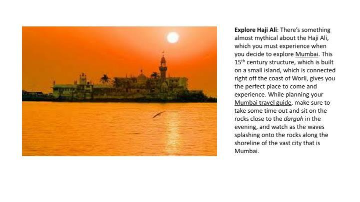 Explore Haji Ali