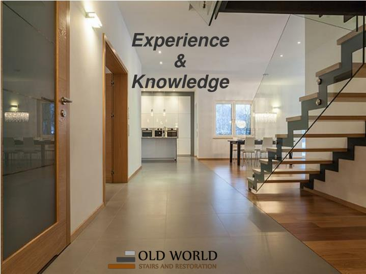 Experience knowledge