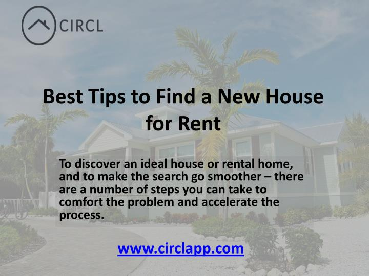 Best Tips to Find a New House