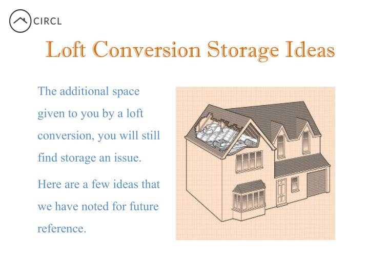 Loft Conversion Storage Ideas