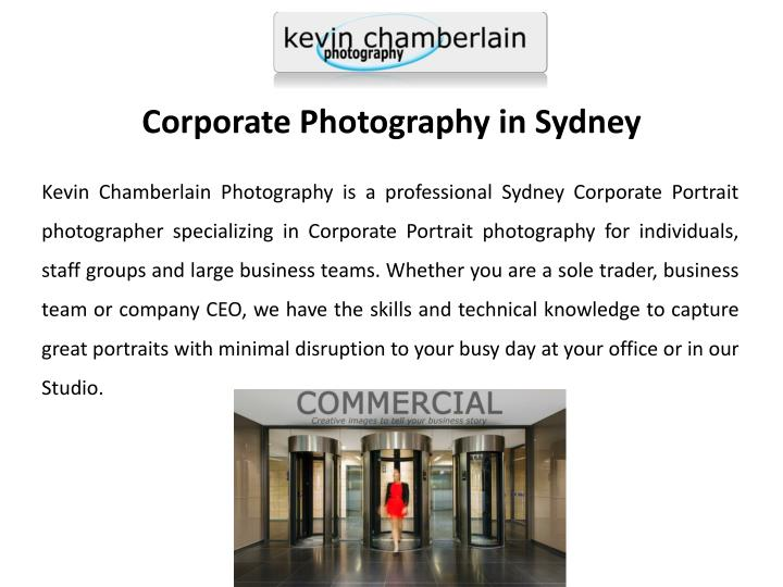 Corporate Photography in Sydney