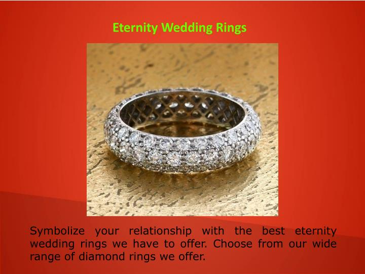 Eternity Wedding Rings