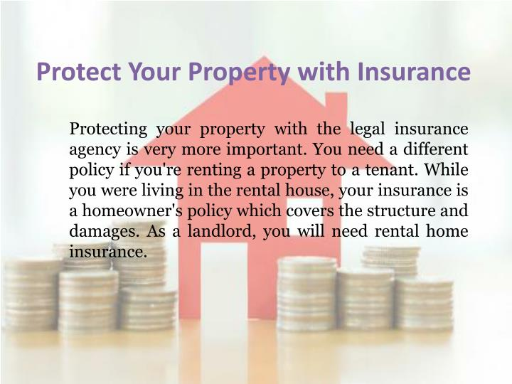 Protect Your Property with Insurance