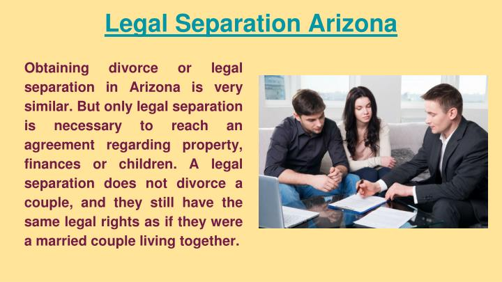 Legal Separation Arizona