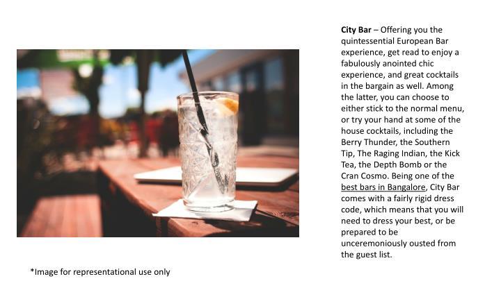 City Bar
